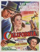 California - 11 x 17 Movie Poster - Belgian Style A