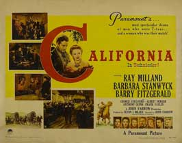 California - 11 x 14 Movie Poster - Style A