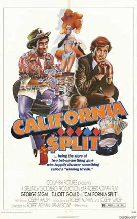 California Split - 11 x 17 Movie Poster - Style A