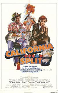 California Split - 43 x 62 Movie Poster - Bus Shelter Style A