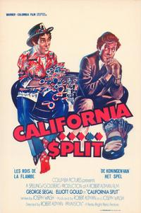 California Split - 11 x 17 Movie Poster - Belgian Style A