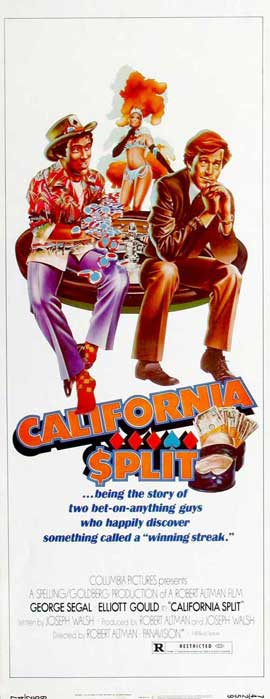 California Split - 14 x 36 Movie Poster - Insert Style A