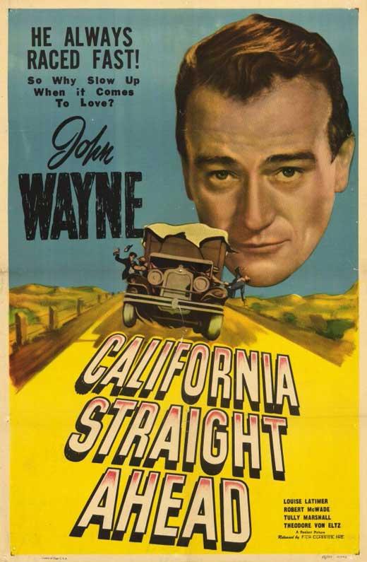 California Straight Ahead! movie