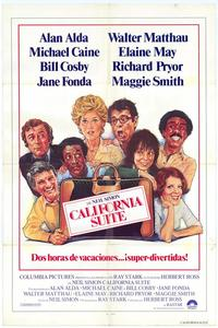 California Suite - 27 x 40 Movie Poster - Spanish Style A