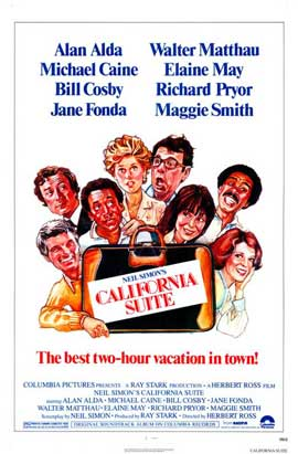 California Suite - 11 x 17 Movie Poster - Style B