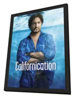 Californication (TV) - 11 x 17 TV Poster - Style B - in Deluxe Wood Frame