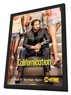Californication (TV) - 11 x 17 TV Poster - Style C - in Deluxe Wood Frame