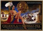 Caligula & Messalina - 27 x 40 Movie Poster - German Style B