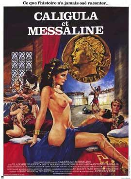 Caligula & Messalina - 11 x 17 Movie Poster - German Style A