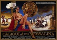 Caligula & Messalina - 11 x 17 Movie Poster - German Style B