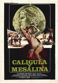 Caligula & Messalina - 27 x 40 Movie Poster - Italian Style A