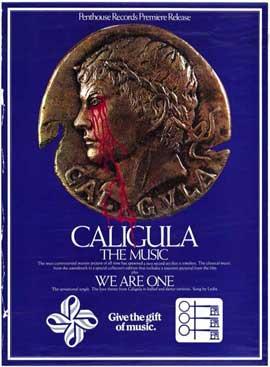 Caligula - 11 x 17 Movie Poster - Style B