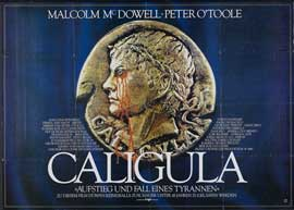 Caligula - 11 x 17 Movie Poster - German Style A