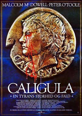 Caligula - 27 x 40 Movie Poster - Danish Style A