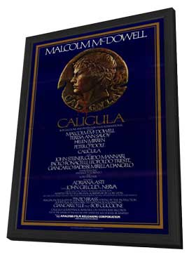 Caligula - 27 x 40 Movie Poster - Style A - in Deluxe Wood Frame