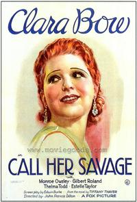 Call Her Savage - 43 x 62 Movie Poster - Bus Shelter Style A