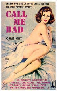 Call Me Bad - 11 x 17 Retro Book Cover Poster