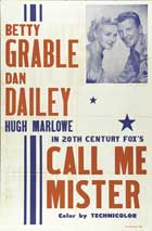 Call Me Mister - 11 x 17 Movie Poster - Style A