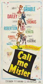 Call Me Mister - 20 x 40 Movie Poster - Style A