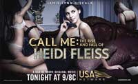 Call Me: The Rise and Fall of Heidi Fleiss (TV) - 11 x 17 Movie Poster - Style A