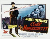 Call Northside 777 - 11 x 14 Poster UK Style B