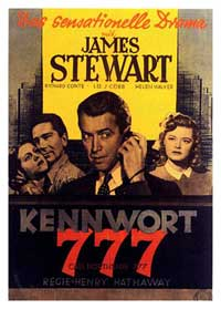 Call Northside 777 - 11 x 17 Movie Poster - German Style A
