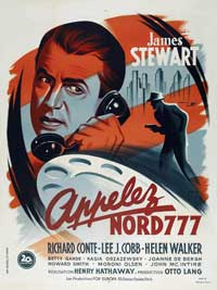 Call Northside 777 - 27 x 40 Movie Poster - French Style A