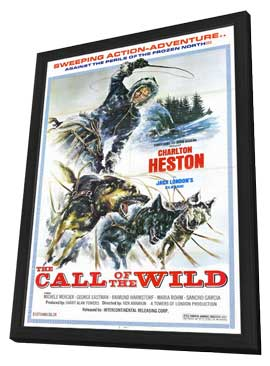 Call of the Wild - 11 x 17 Movie Poster - Style B - in Deluxe Wood Frame