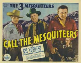 Call the Mesquiteers - 11 x 17 Movie Poster - Style A