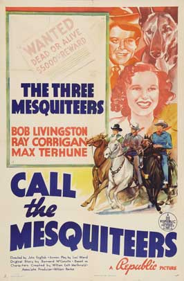 Call the Mesquiteers - 22 x 28 Movie Poster - Half Sheet Style A