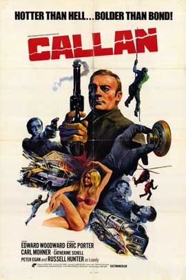 Callan - 11 x 17 Movie Poster - Style A
