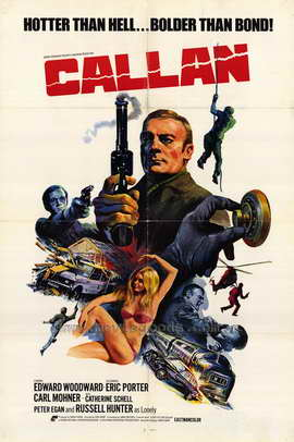 Callan - 27 x 40 Movie Poster - Style A