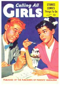Calling All Girls - 11 x 17 Retro Book Cover Poster