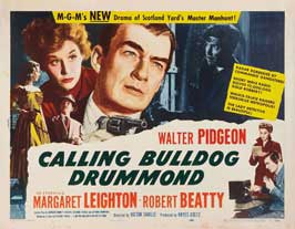 Calling Bulldog Drummond - 11 x 14 Movie Poster - Style A