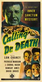 Calling Dr. Death - 11 x 17 Movie Poster - Style A