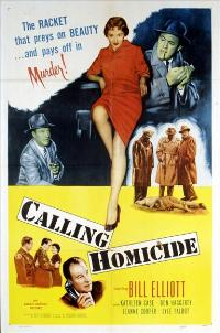 Calling Homicide - 11 x 17 Movie Poster - Style A