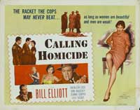 Calling Homicide - 22 x 28 Movie Poster - Half Sheet Style A
