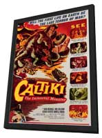 Caltiki the Immortal Monster - 11 x 17 Movie Poster - Style A - in Deluxe Wood Frame