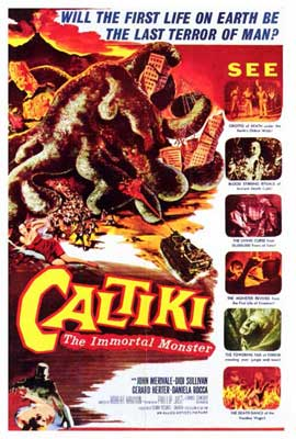 Caltiki the Immortal Monster - 27 x 40 Movie Poster - Style A