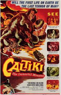 Caltiki the Immortal Monster - 43 x 62 Movie Poster - Bus Shelter Style A