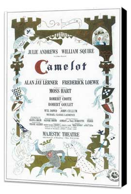Camelot (Broadway) - 11 x 17 Poster - Style A - Museum Wrapped Canvas