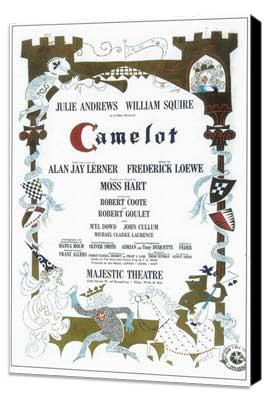 Camelot (Broadway) - 14 x 22 Poster - Style A - Museum Wrapped Canvas