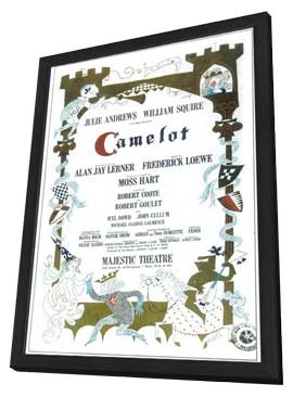Camelot (Broadway) - 11 x 17 Poster - Style A - in Deluxe Wood Frame