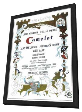 Camelot (Broadway) - 14 x 22 Poster - Style A - in Deluxe Wood Frame