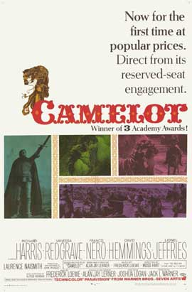 Camelot - 11 x 17 Movie Poster - Style B