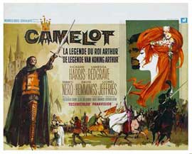 Camelot - 11 x 17 Movie Poster - Belgian Style A