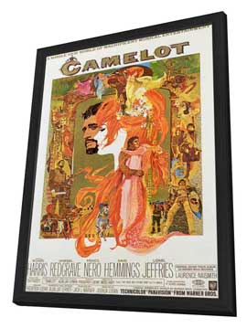 Camelot - 11 x 17 Movie Poster - Style A - in Deluxe Wood Frame