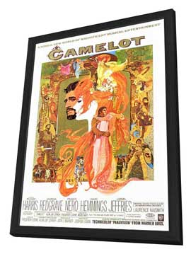 Camelot - 27 x 40 Movie Poster - Style A - in Deluxe Wood Frame