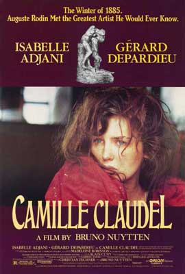 Camille Claudel - 27 x 40 Movie Poster - Style A