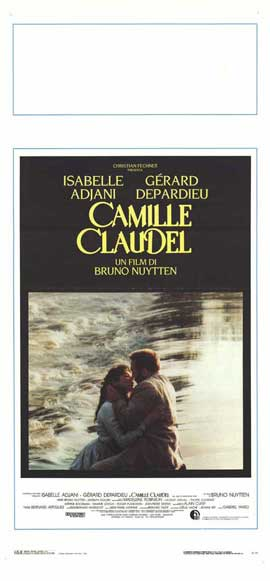 Camille Claudel - 13 x 28 Movie Poster - Italian Style A